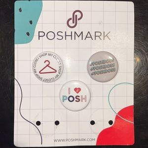 Poshmark official;collectible buttons